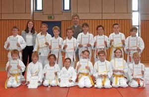 Judo Kyu-Prüfung 29.07.17