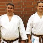 Raimund Mistele und Frank Schwarzbach 2. Braungurt.