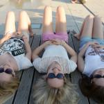Yvonne, Alex, Carina