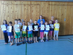 Fitness-Test Kinder 2015