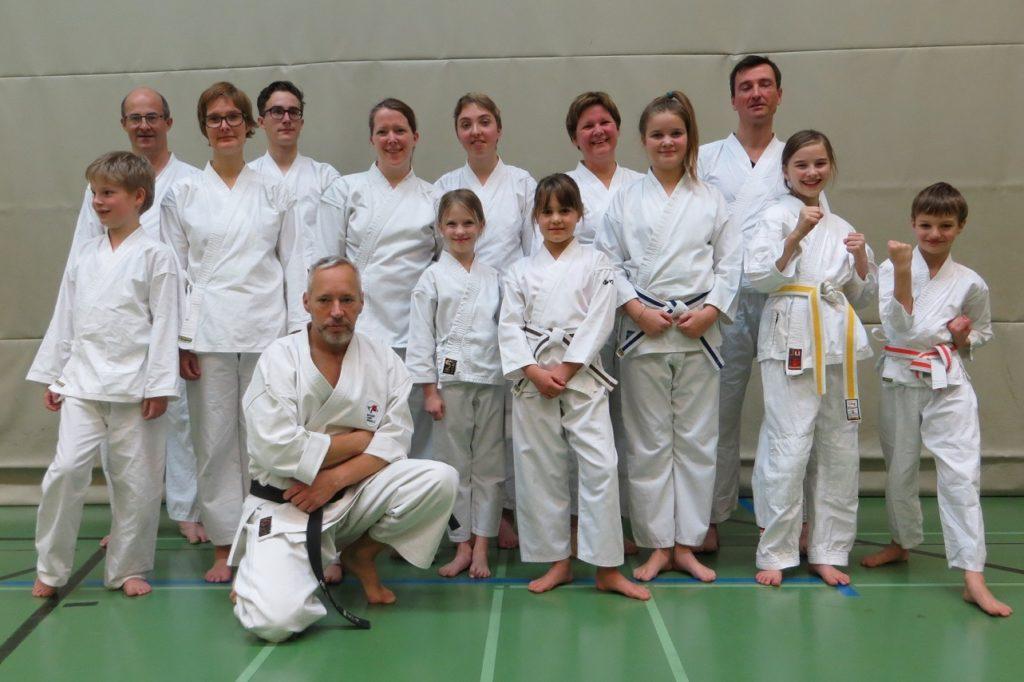 Karate Gürtelprüfung 2017