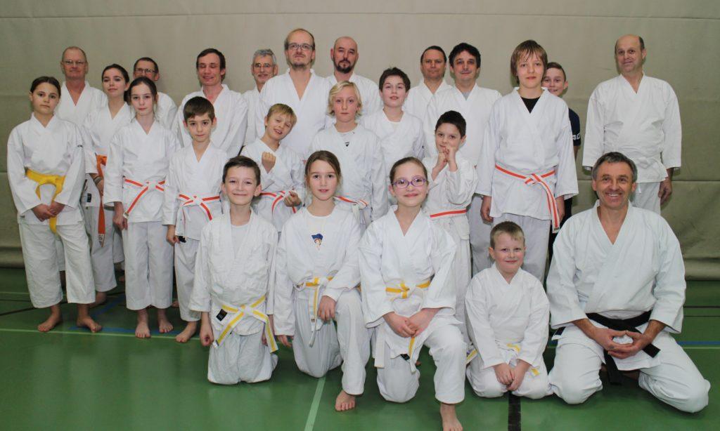 Karate-Gürtelprüfung der Turnerschaft Kronach